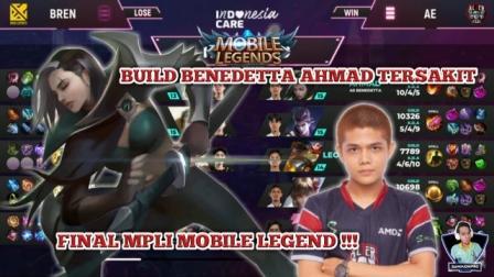 Build Benedetta Tersakit di Final MPLI