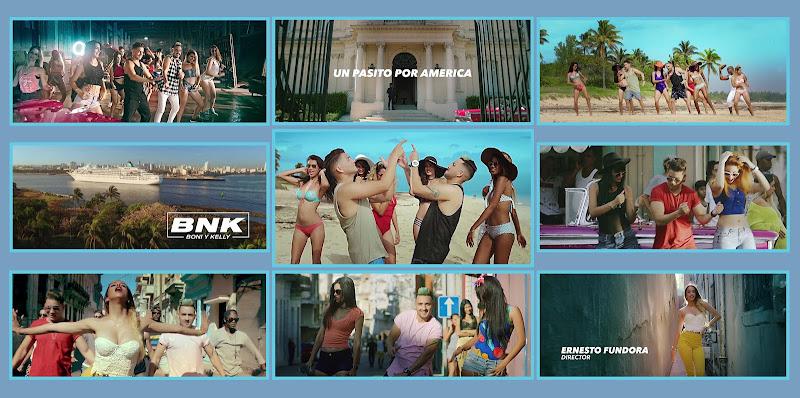 Boni & Kelly (BNK) - ¨Un pasito por América¨ - Videoclip - Dirección: Ernesto Fundora. Portal Del Vídeo Clip Cubano