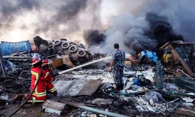 """محافظ بيروت باكيا : ما حدث أشبه بتفجير """"هيروشيما"""" وهذه مصيبة على لبنان"""