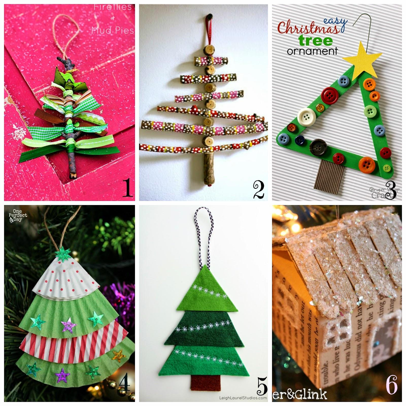 Extrêmement Decorazioni per l'albero di Natale fai da te- 12 tutorial semplici  EF99