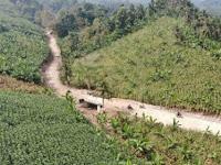 TMMD Lamsel, Lestarikan Alam, Mari Tanam Bibit Pohon