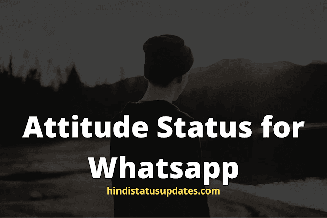 50+ Royal Attitude Status in Hindi for Boys