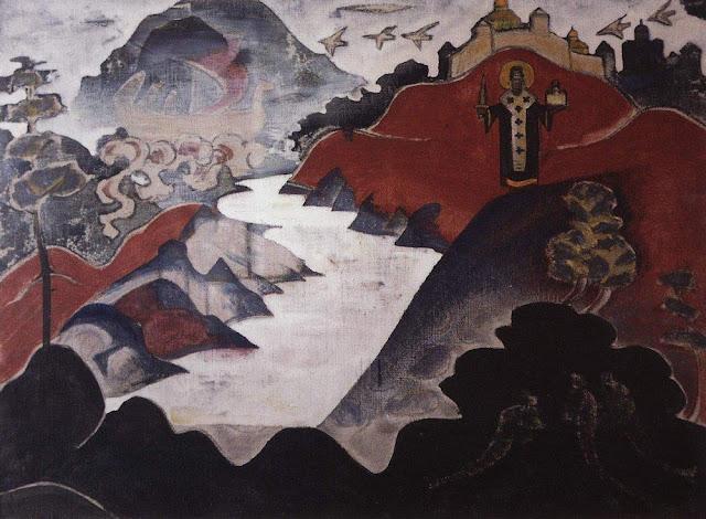 Николай Рерих - Никола Можайский. 1920