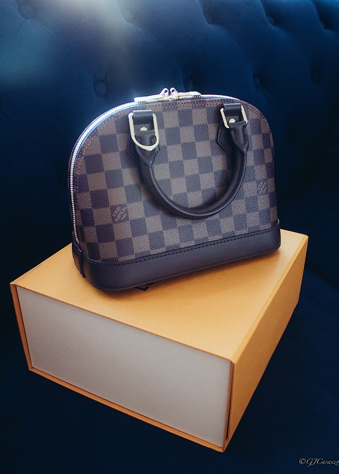 My first luxury bag the Louis Vuitton Alma BB