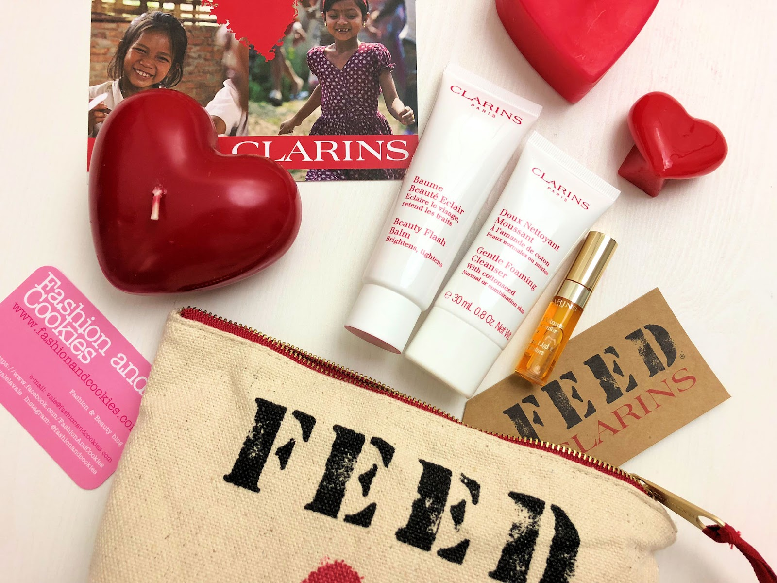 Trousse Clarins FEED10 per il 2018 in edizione limitata su Fashion and Cookies fashion blog, fashion blogger