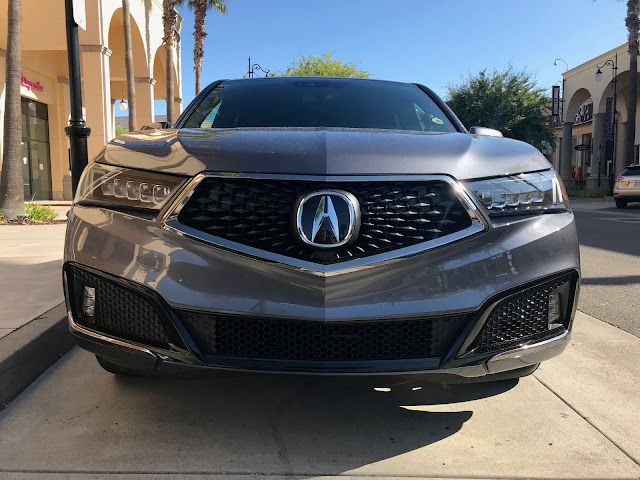 Front view of 2020 Acura MDX SH-AWD A-Spec