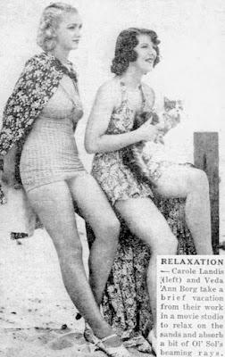 Carole Landis Veda Ann Borg 1937