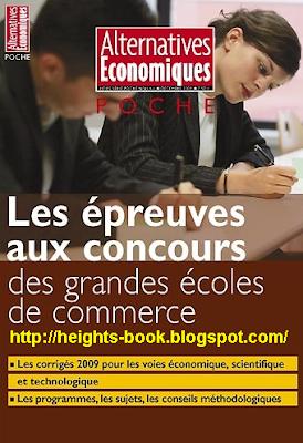 Télécharger Livre Gratuit Les épreuves aux concours des grandes écoles de commerce 2009 pdf