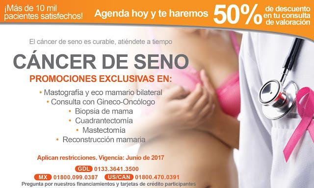 cancer de seno guadalajara