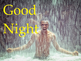 good night images with rain