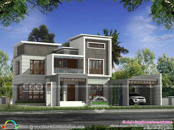 3335 sq-ft luxury modern home plan