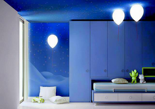 Kreativiti Dekorasi Bilik Tidur Anak Anda Relaks Minda Warna Cat Tembok Biru