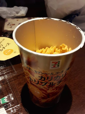 Pasta crackers from 7-11 in Japan