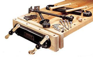 Twin-screw vise