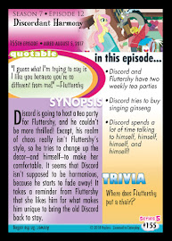 My Little Pony Discordant Harmony Series 5 Trading Card