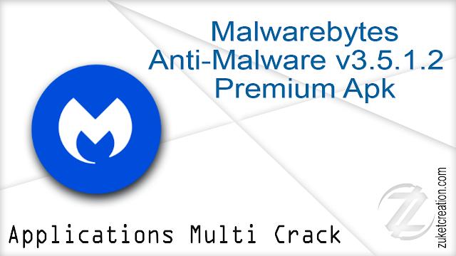 Malwarebytes Anti-Malware v3.5.1.2 Premium Apk