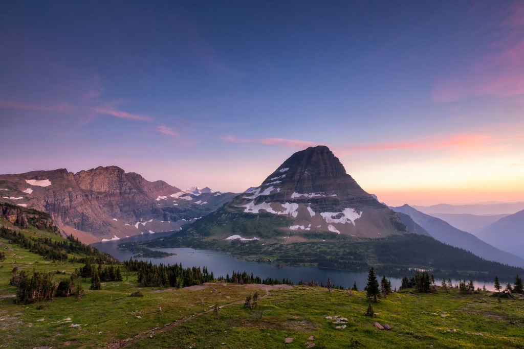 glacier national park glaciers are super cold and it is one of the places to visit in america
