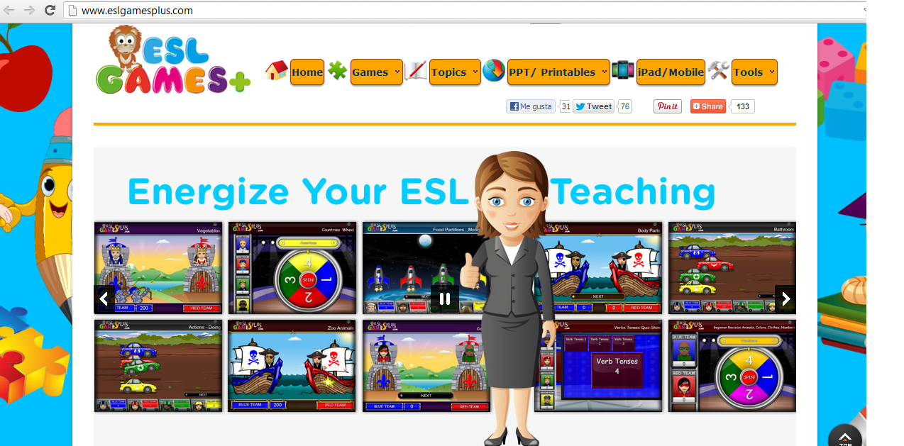 english games for kids interactive