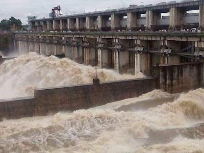 Gangrel Dam Dhamtari Chhattisgarh, Gangrel bandh dhamtari Chhattisgarh ( गंगरेल बांध धमतरी )