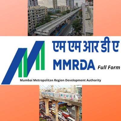 MMRDA Full Form In Government Dept