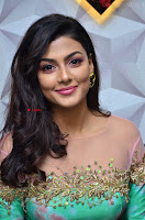 Anisha Ambrose sizzles in cute Green Anarkali Dress at Fashion TV F Club Saloon Launch ~  Exclusive 001.JPG