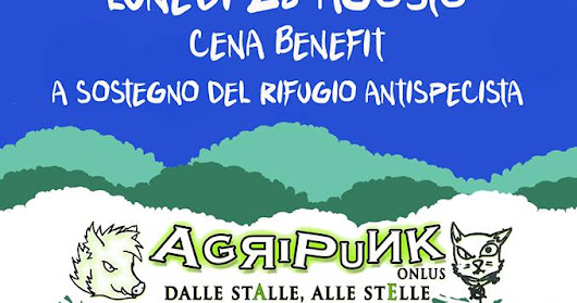 28 Agosto 2017 Cesenatico Cena Benefit supportAgriPunk by Back in Veg