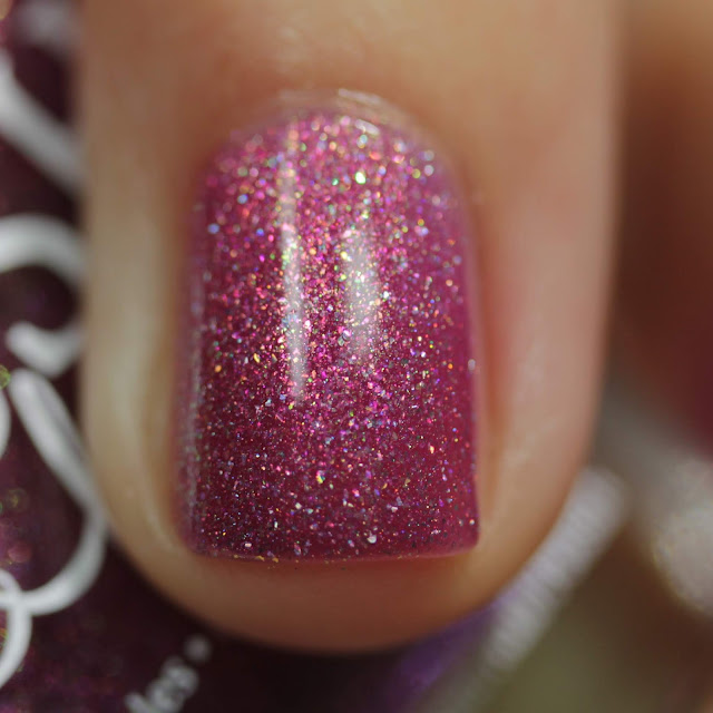 BLUSH Lacquers Late Night swatch by Streets Ahead Style