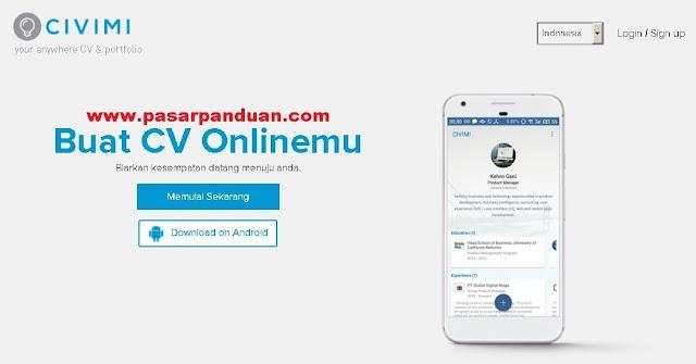 cv online gratis bahasa indonesia