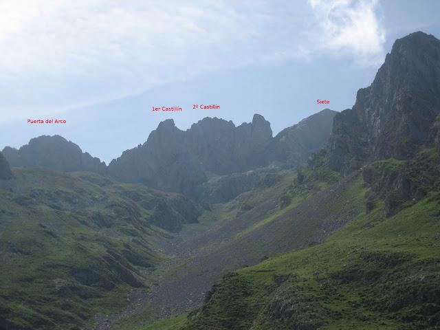 Rutas Montaña Asturias: Panorámica de la Puerta del Arco, Castillines y Siete