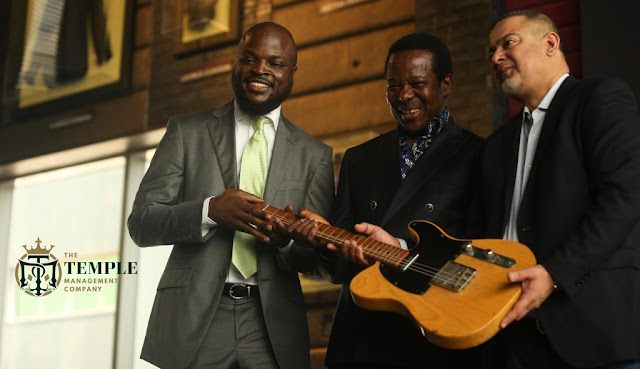 King Sunny Ade Has Become The First Nigerian Musician To Join Hard Rock's Iconic Memorabilia Collection