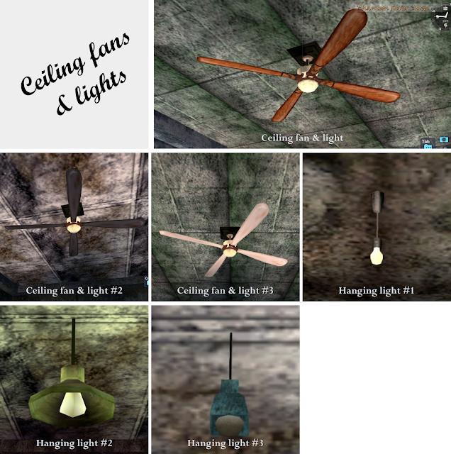 Ceiling Fans & Lights