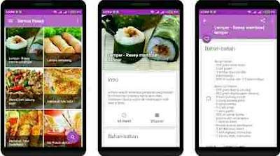 500+ Resep Masakan Nusantara Offline