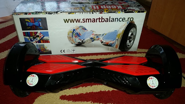 Concurs SmartBalance.ro Hoverboard SmartBalance 8 inch