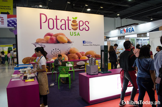 Potatoes USA Exhibit Booth