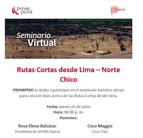 RUTAS CORTAS DESDE LIMA - NORTE CHICO