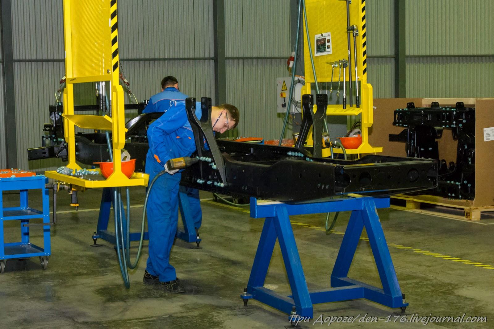 How to make MBTV 16 Mercedes Benz trucks in Naberezhnye Chelny