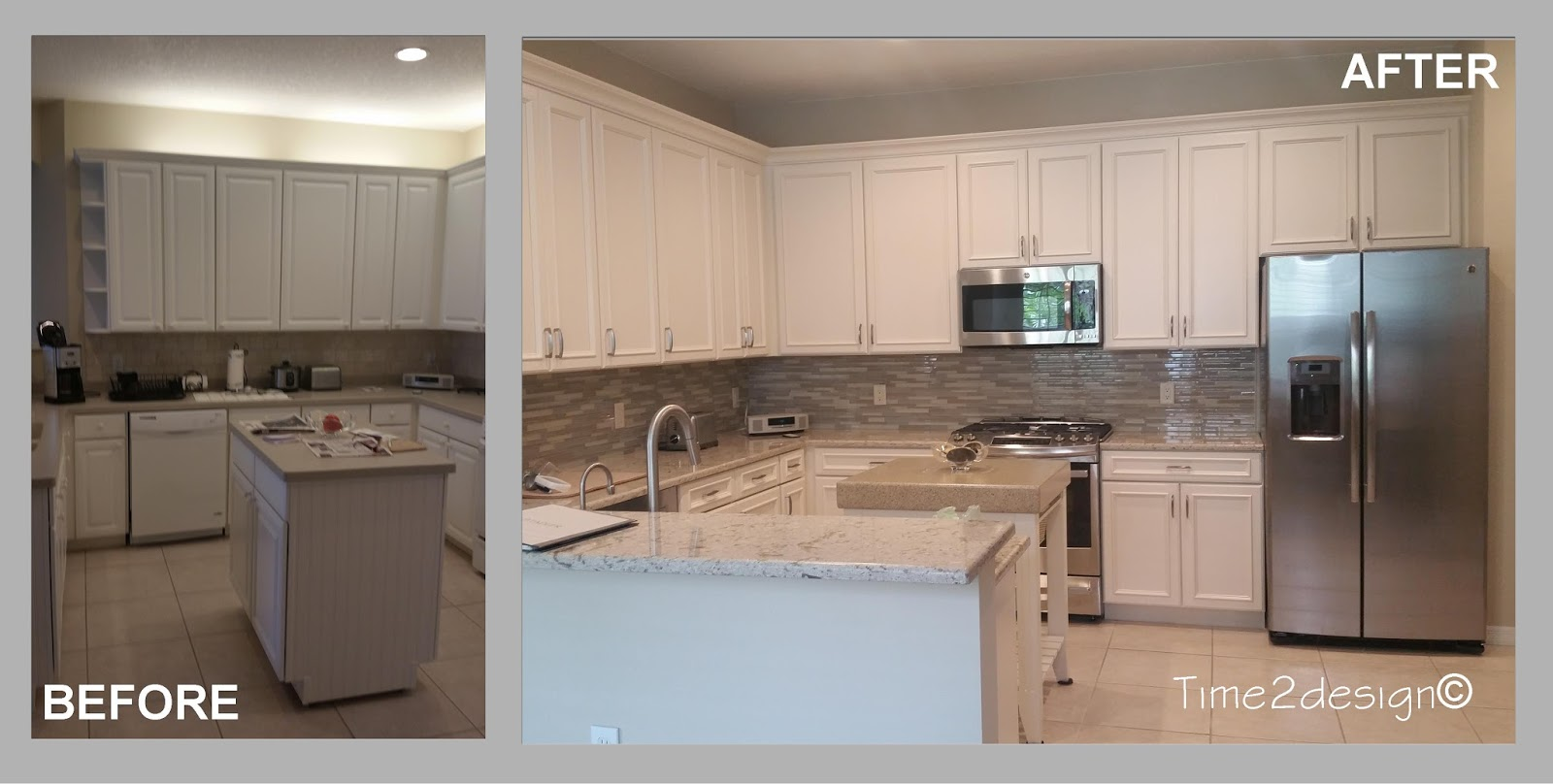 kitchen resurfacing marble counter time2design custom cabinetry and interior design bath simple change equals stylish upgrade