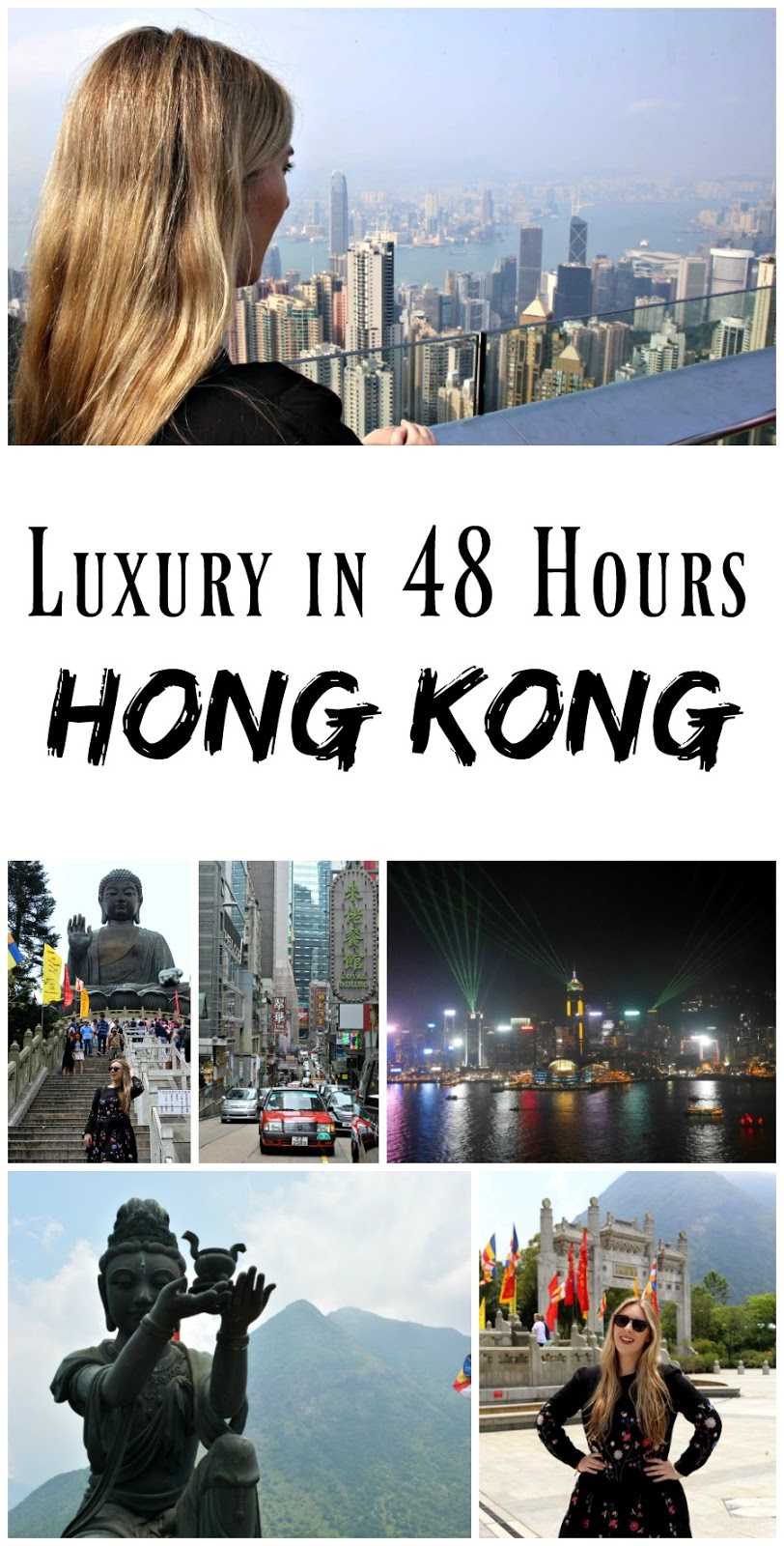 PIN FOR LATER: How to spend 48 hours in Hong Kong! Includes Tian Tan Buddha, Lantau Island, Victoria Peak, and Star Ferry, as well as the best bars and restaurants to try out!
