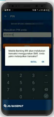 Beralih Transaksi via SMS