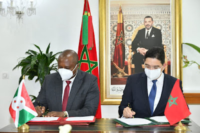 Le Maroc et le Burundi établissent une feuille de route de coopération pour la période 2021-2024