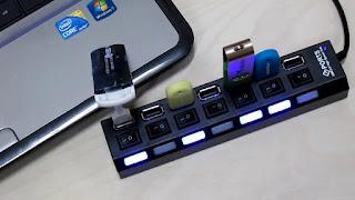 HUB USB 7 PORTE USB INTERRUTTORI ON TENCK