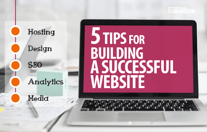 5 Tips for building a successful website