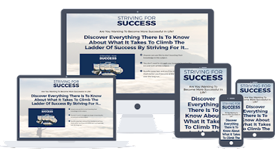 Striving For Success Ready-To-Go Sales Letter, Thank You Page and Legal Pages