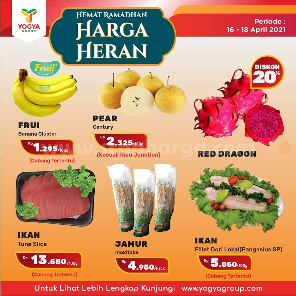 Katalog Promo Toserba Yogya Weekend 16 - 18 April 2021 2
