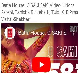 O Saki Saki Song Lyrics - Batla House