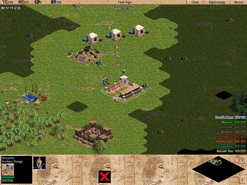Các loài nhà trong vòng AOE là chuẩn mực để nhiều Game RTS khác sau này học theo