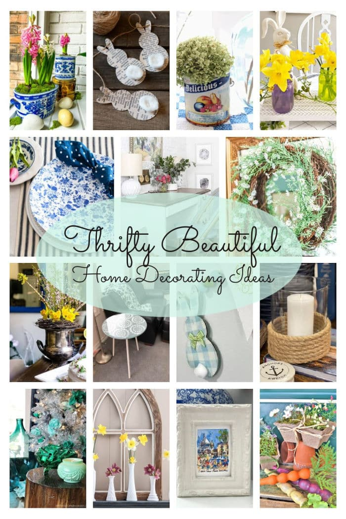 Thrifty Style Team Spring DIY and decor projects