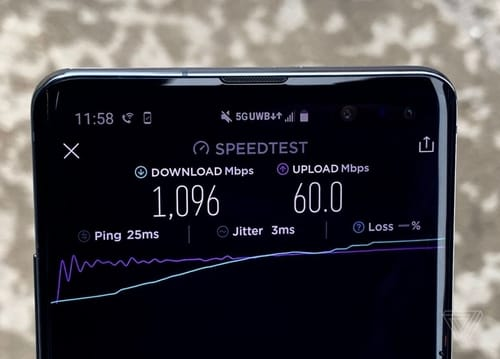 The US networks do not support the promised 5G speeds