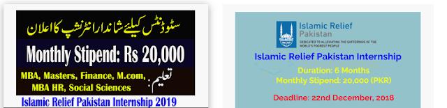 islamic relief internship