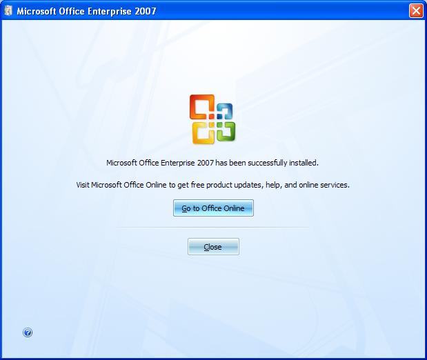 Activate Microsoft Office Enterprise 2007 download free